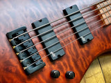 SPECTOR LEGEND 5 NECK THRU WALNUT MATTE - GYBX