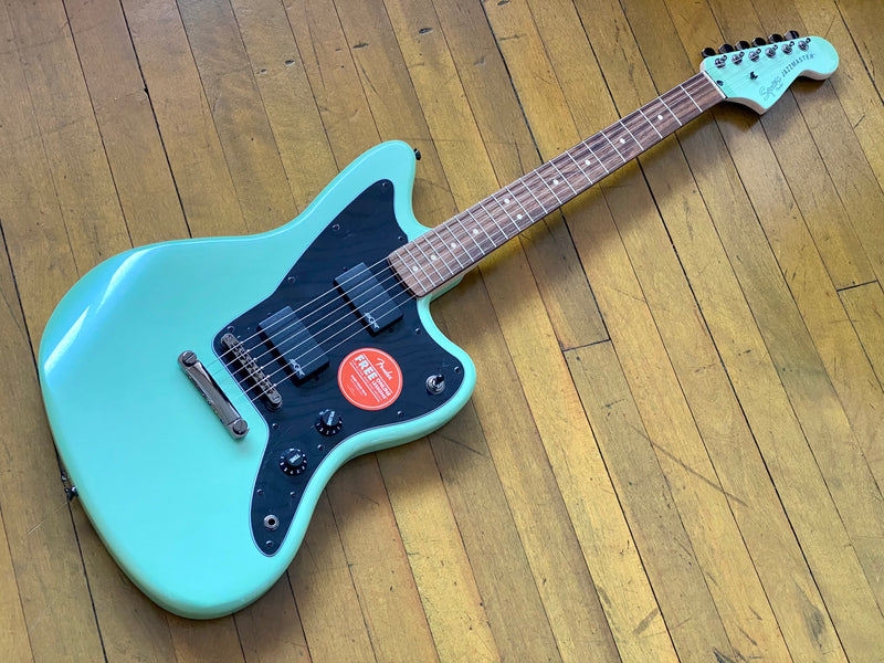 Squier Contemporary Act Jazz Master Surf Pearl