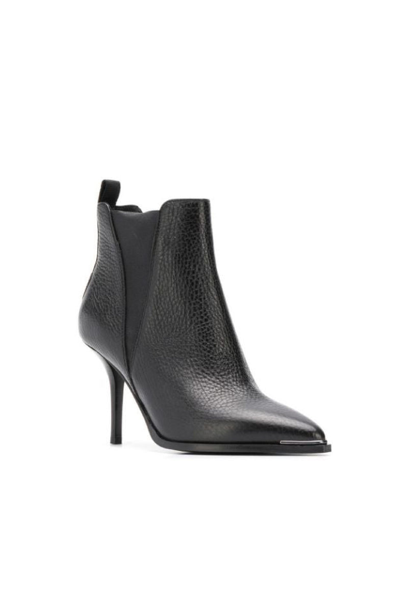 JEMMA SMALL GRAIN LEATHER BOOTS