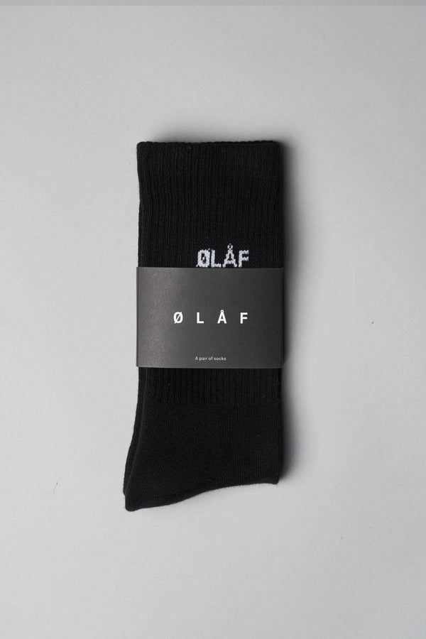 MINI LOGO SOCKS BLACK