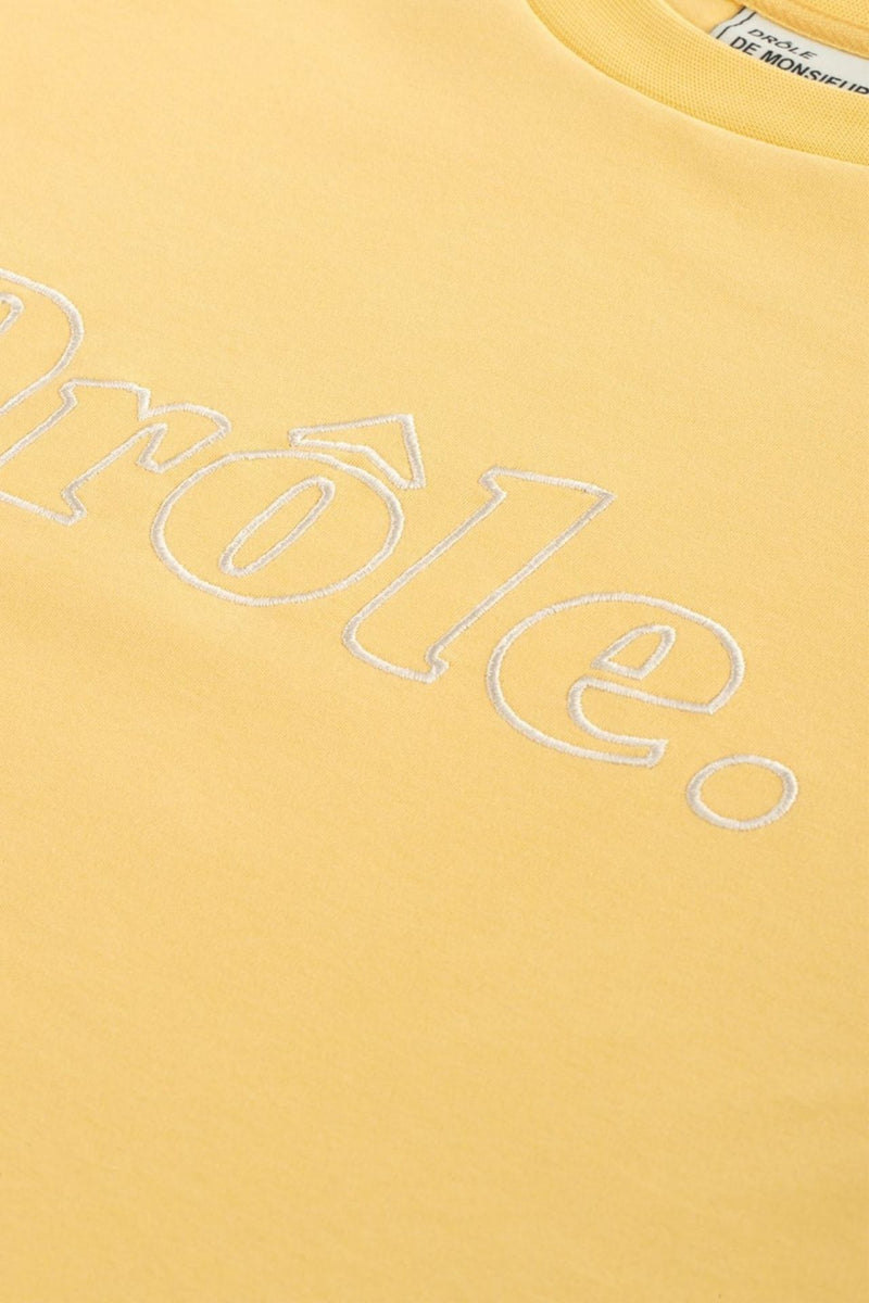 DROLE EMBROIDERED T-SHIRT