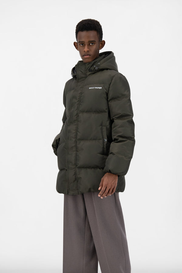 FOREST GREEN EPUFFA MID JACKET
