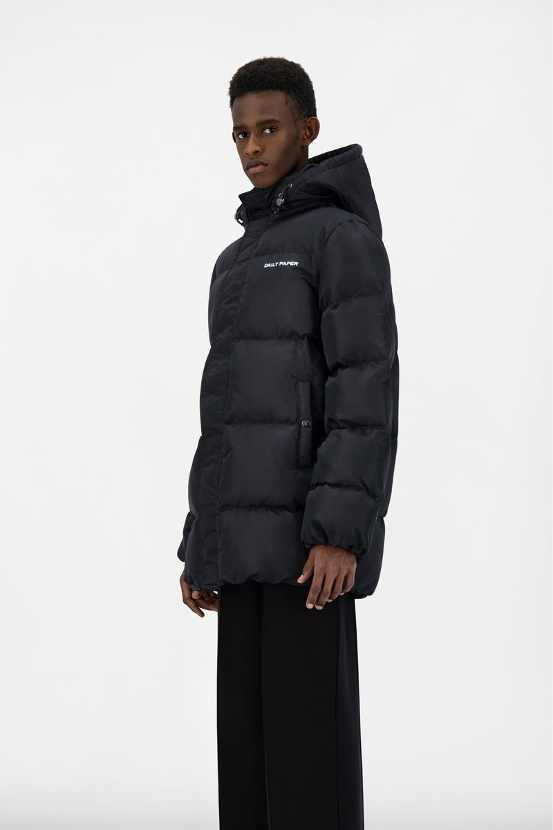 BLACK EPUFFA MID JACKET