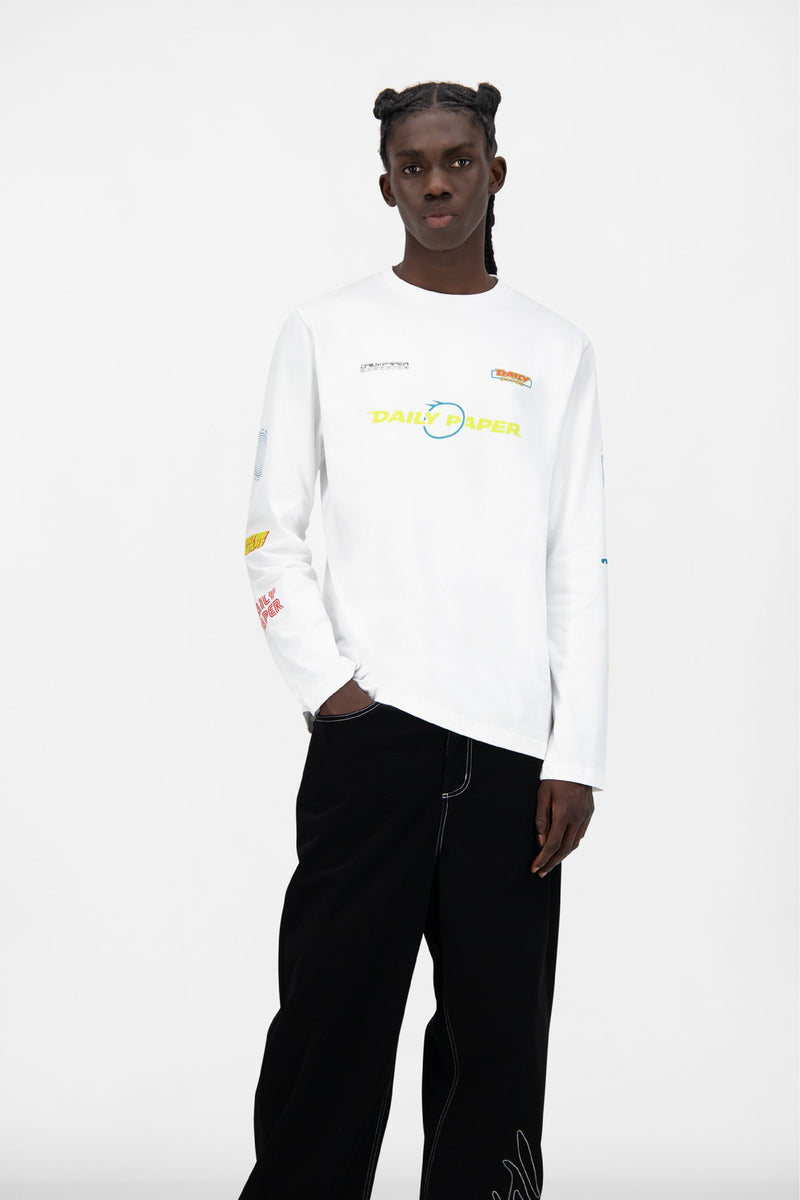 WHITE JEFF LONGSLEEVE
