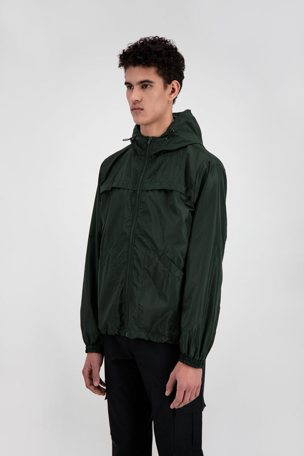 ZIP JACKET KALE GREEN