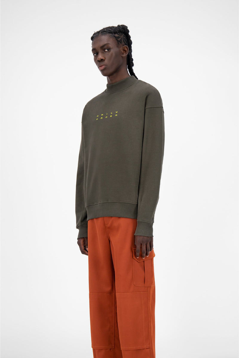 FOREST GREEN JIMFOR SWEATER
