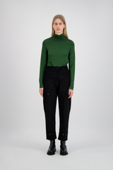 TURTLE NECK GREEN