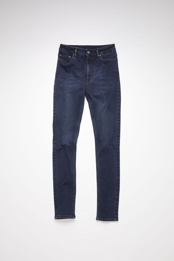PEG BLUE BLACK JEANS