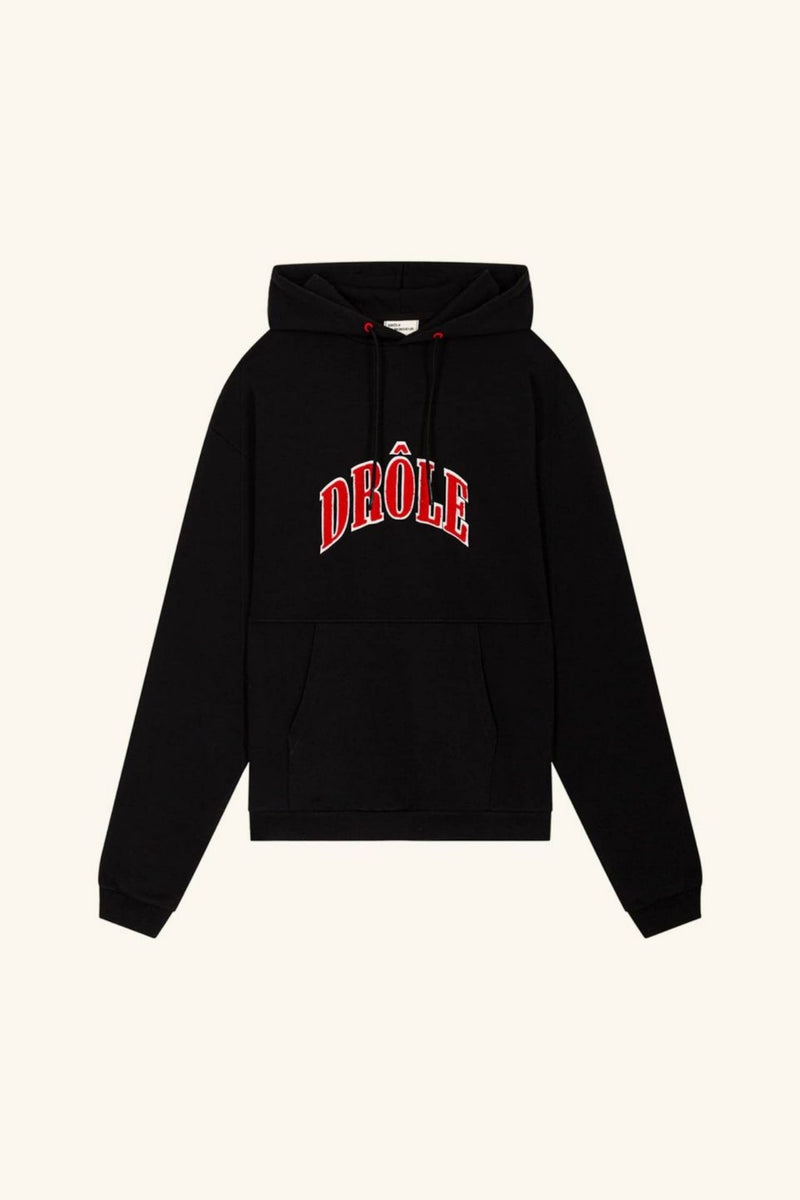 DROLE EMBROIDERED HOODIE