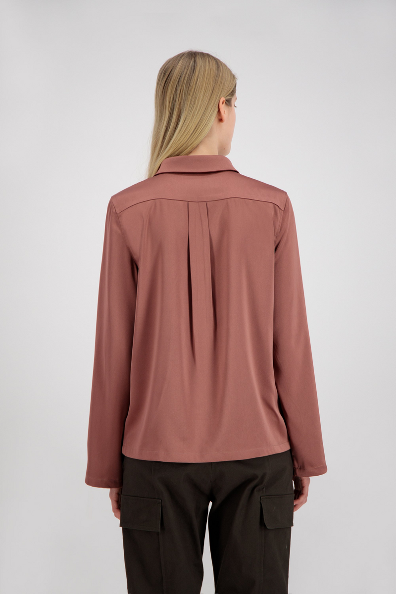 ZIP BLOUSE