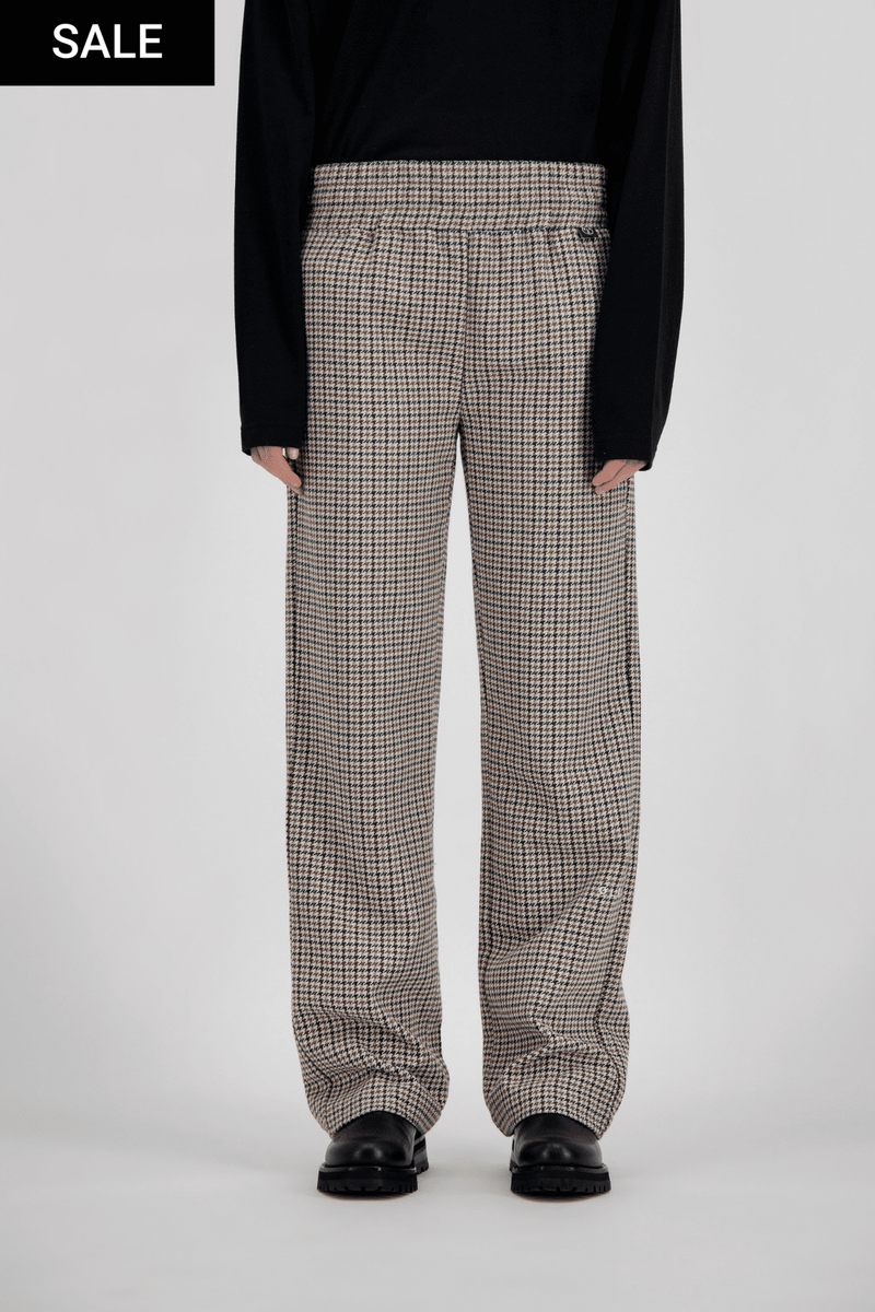 TROUSER HOUNDSTOOTH