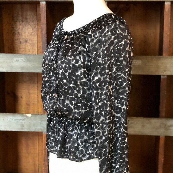 Michael Kors Black Blouse | S