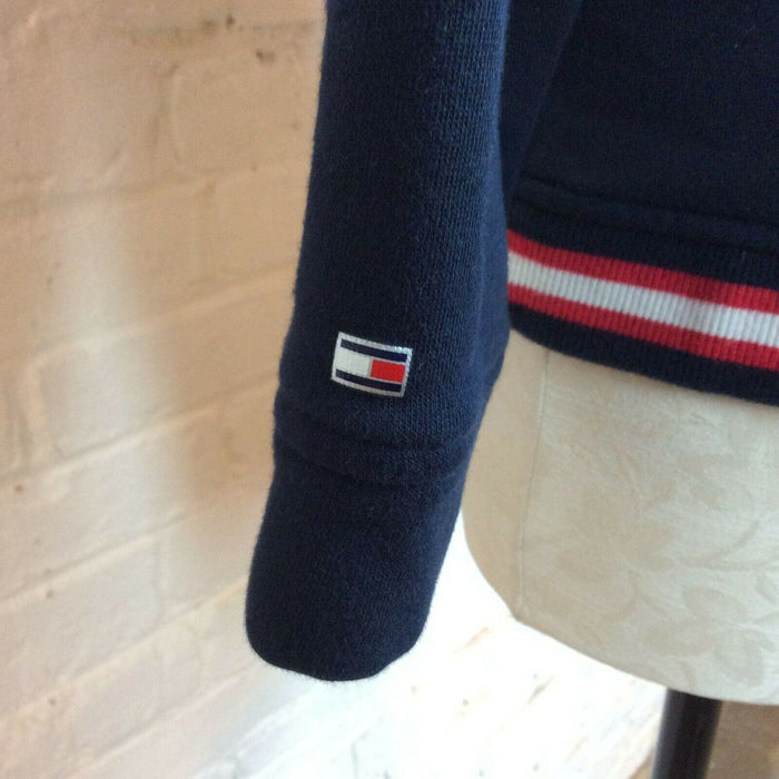 Tommy Hilfiger Kids Navy Graphic Pull Over | L