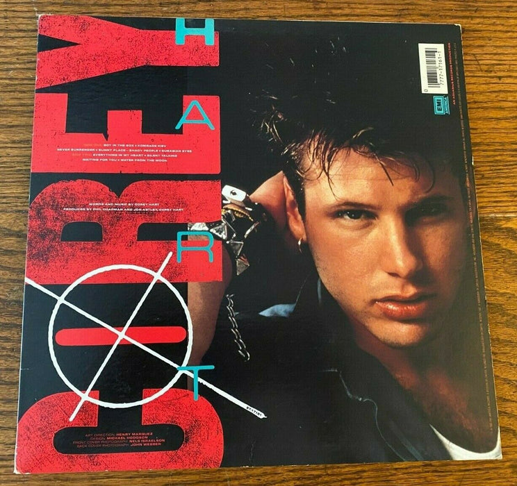 Corey Hart: Boy in the Box & Poster