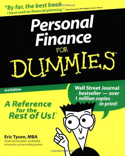 Personal Finance For Dummies (For Dummies (Lifestyles Paperback))