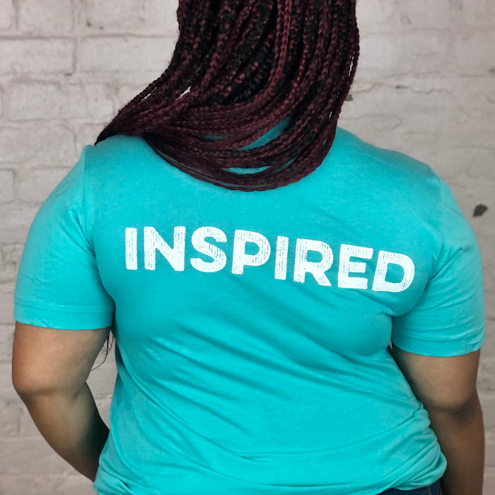 MTW Graphic Tees: Be More Inspired (Teal)