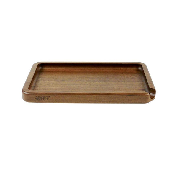 RYOT Walnut Rolling Tray - High Not Tired