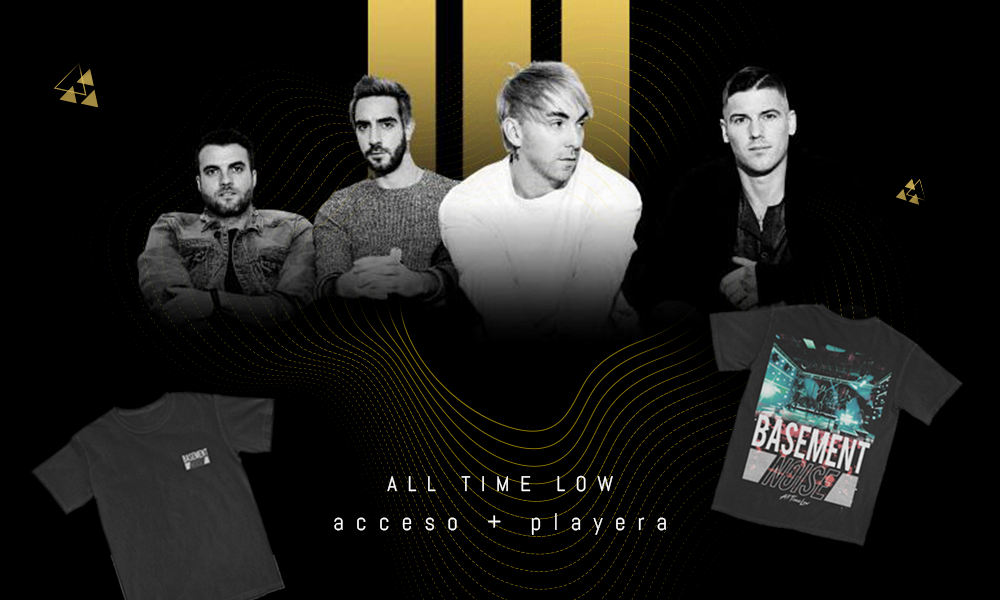 IRREPETIBLE All Time Low Streaming: Una serie, 5 shows