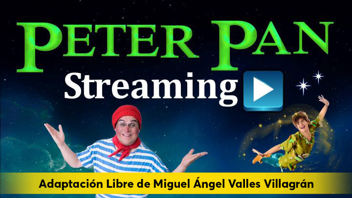 Peter Pan ahora en Streaming
