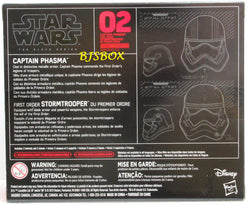 Star Wars Titanium Black Series Helmets PHASMA & F.O. STORMTROOPER 2 Pack #02 New
