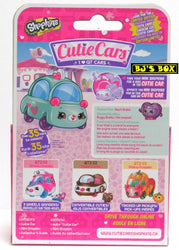 Shopkins Cutie Cars HEART BRAKER Series#2 QT2-21 Die-Cast Car & Figure New