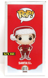 Funko Pop Disney The Santa Clause Movie SANTA WITH LIGHTS #611 Vinyl Figure New