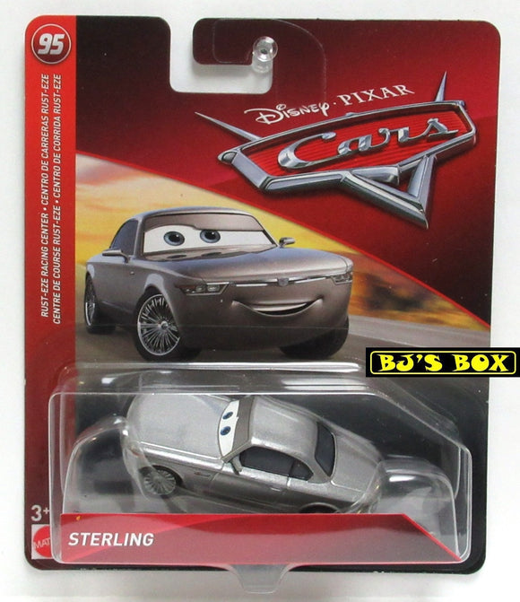 Disney Pixar Cars STERLING Rust-Eze Racing Center Racer Silver New