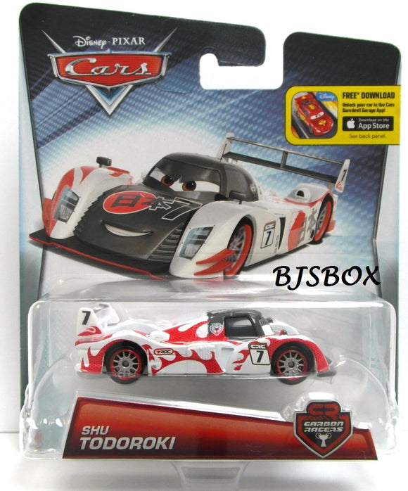 Disney Pixar Cars Carbon Racers Shu Todoroki TROC CRC Series New Sealed