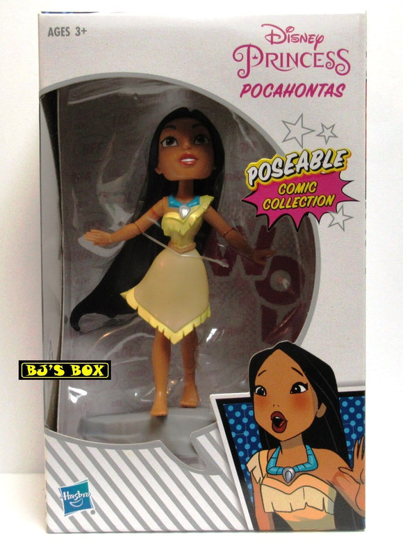 Disney Princess POCAHONTAS 5in. Poseable Comic Collection Deluxe Figure Hasbro New