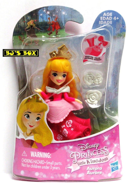 Disney Princess Little Kingdom AURORA Figure with Snap-Ins New