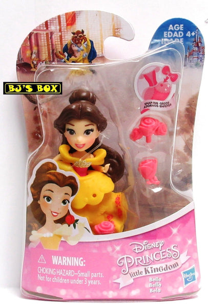 Disney Princess Little Kingdom BELLE Figure with Snap-Ins New