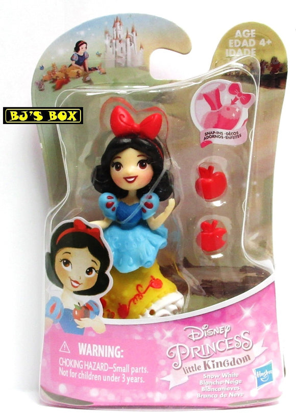 Disney Princess Little Kingdom SNOW WHITE Figure with Snap-Ins New