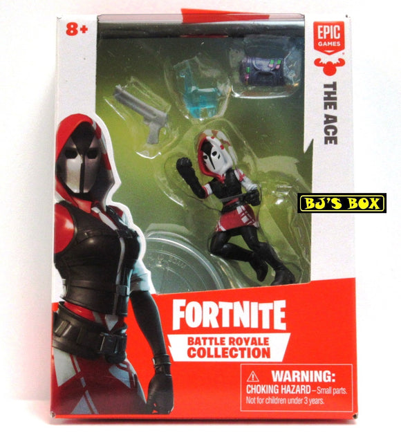 FORTNITE Battle Royale Collection THE ACE Figure & Accessories #062 New