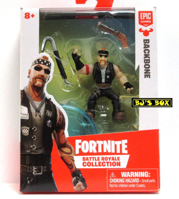 FORTNITE Battle Royale Collection BACKBONE Figure & Accessories #068 New