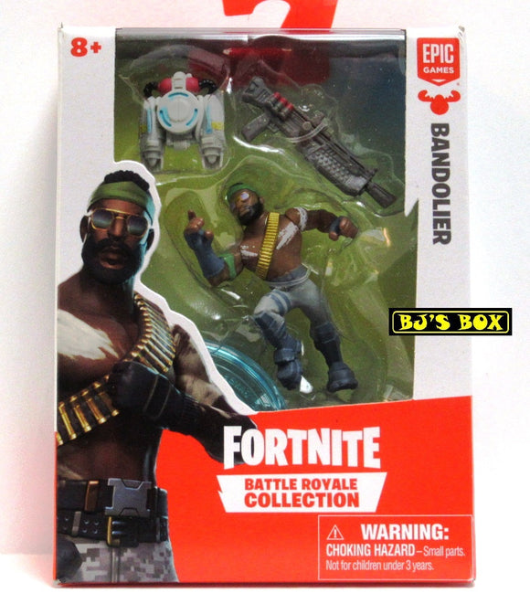 FORTNITE Battle Royale Collection BANDOLIER Figure & Accessories #065 New