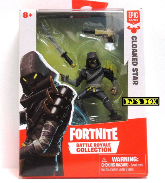 FORTNITE Battle Royale Collection CLOAKED STAR Figure & Accessories #066 New
