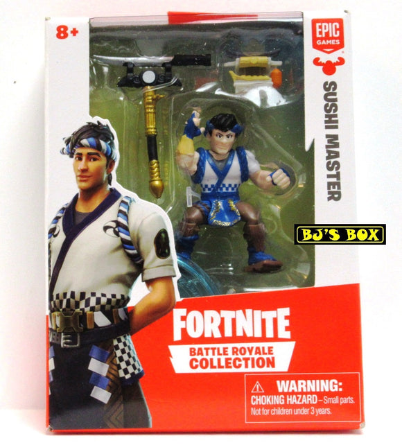 FORTNITE Battle Royale Collection SUSHI MASTER Figure & Accessories #064 New