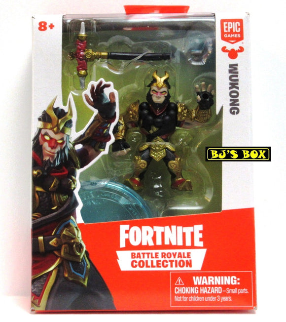 FORTNITE Battle Royale Collection WUKONG Figure & Accessories #059 New