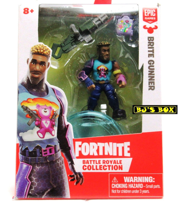 FORTNITE Battle Royale Collection BRITE GUNNER Figure & Accessories #034 New