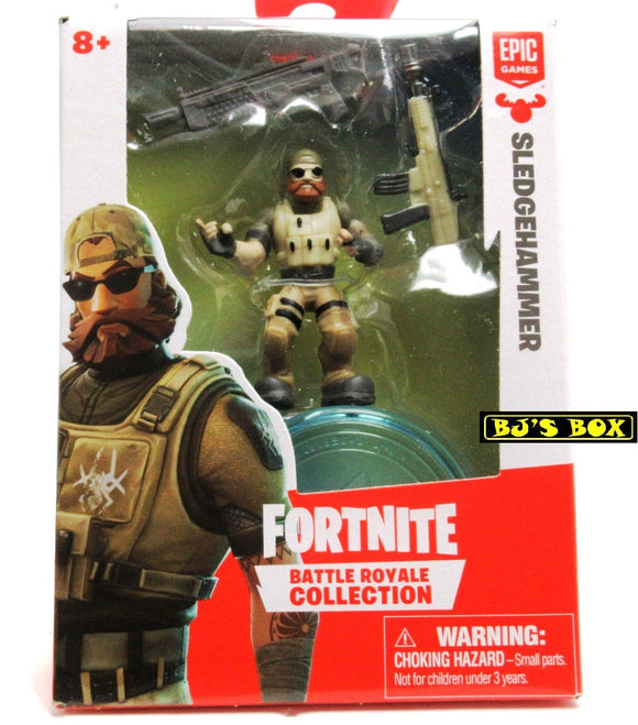 FORTNITE Battle Royale Collection SLEDGEHAMMER Figure & Accessories #031 New