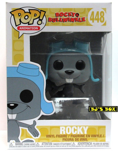 Funko Pop Animation Rocky & Bullwinkle #448 ROCKY Vinyl Figure New