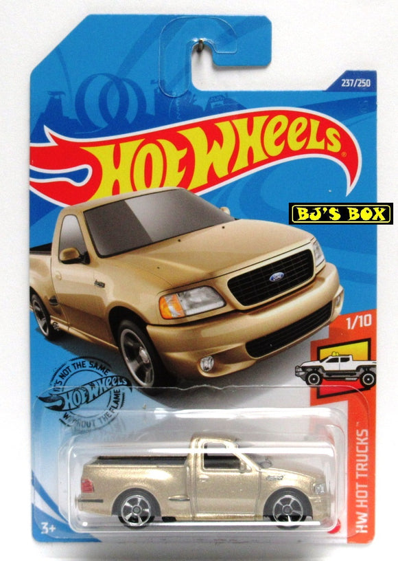2020 Hot Wheels '99 FORD F-150 SVT LIGHTNING #237/250 Gold, HW Hot Trucks 1/10 New