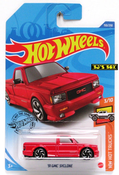 2020 Hot Wheels '91 GMC SYCLONE #150/250 Red, HW Hot Trucks 3/10 New