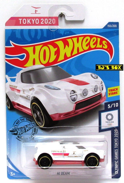 2020 Hot Wheels HI BEAM #155/250 Olympic Games Tokyo 2020 5/10 Track Stars New