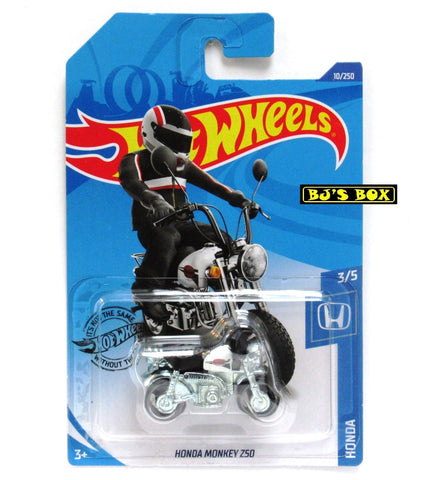 2020 Hot Wheels HONDA MONKEY Z50 HW Honda 3/5 Mini Bike Motorcycle 10/250 New