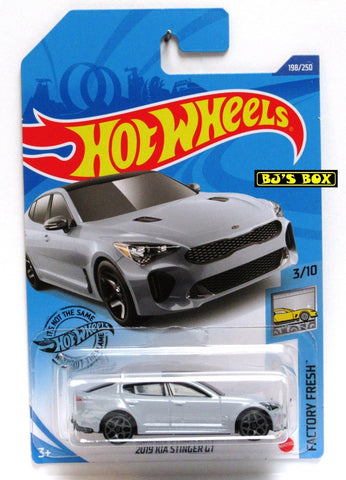 2020 Hot Wheels 2019 KIA STINGER GT Factory Fresh 3/10 Gray 198/250 New