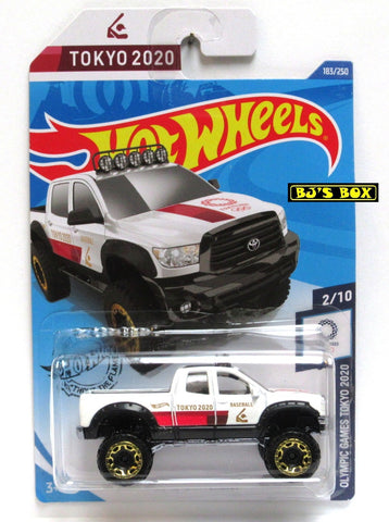 2020 Hot Wheels '10 TOYOTA TUNDRA #183/250 White Olympic Games Tokyo 2020 Pickup 2/10 New