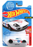 2021 Hot Wheels FORD GT-40 #78/250 White Gum Ball 3000 1/10 Then & Now Series New