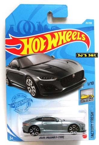2021 Hot Wheels 2020 JAGUAR F-TYPE #25/250 Gray #1/10 HW Factory Fresh New
