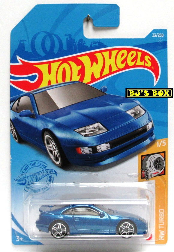 2021 Hot Wheels NISSAN 300ZX TWIN TURBO #23/250 Blue Sports Car 1/5 HW Turbo New